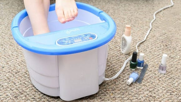 Give your feet some lovin' with a foot spa.