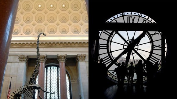 Museums in New York City, Paris, and bunch of other cities are at your fingertips.