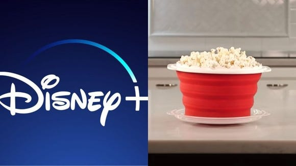 Kick back and relax with popcorn and a movie.