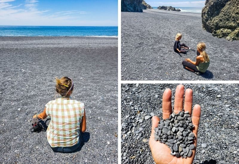 Black Sand Beach, California