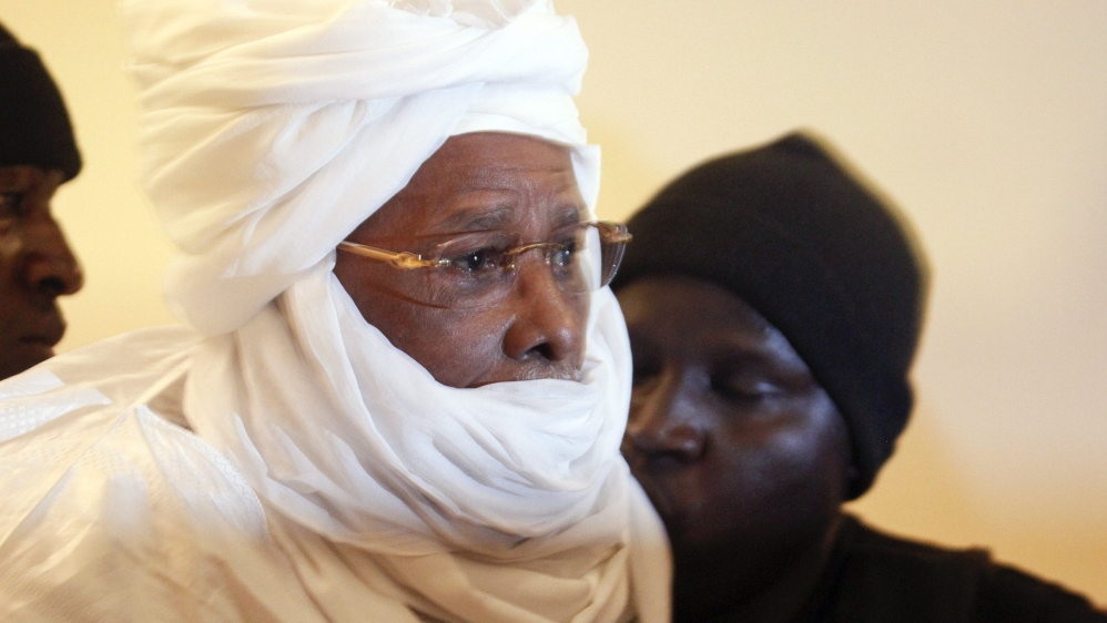 Former Chadian leader Hissene Habre sentenced to life in prison over crimes against humanity