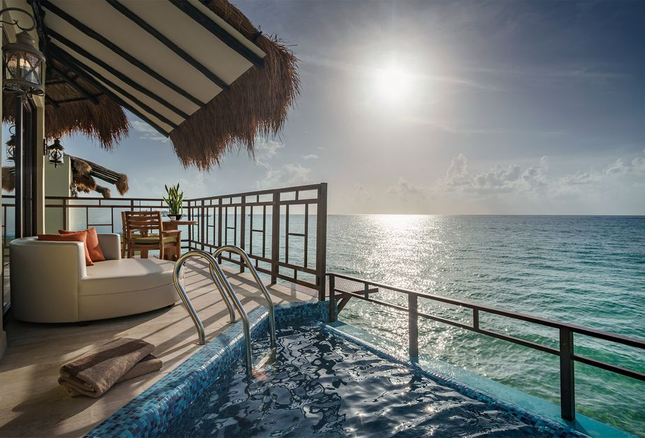 Check Out Mexico's Only Overwater Bungalows: 5 Stars, Adults-Only, & All-Inclusive - 6