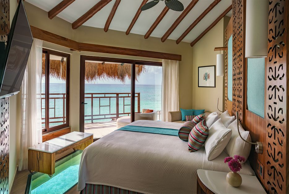 Check Out Mexico's Only Overwater Bungalows: 5 Stars, Adults-Only, & All-Inclusive - 9