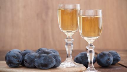Rakija fruit brandy