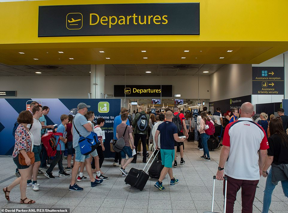 Just 23 people used Gatwick Airport in an entire day last week - down from its pre-covid average of 45,000