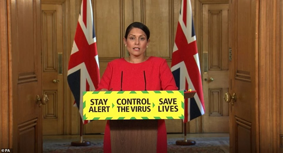Home Secretary Priti Patel delayed unveiling the government's new quarantine and travel plans today as MPs and tourism bosses demanded they be thrown out