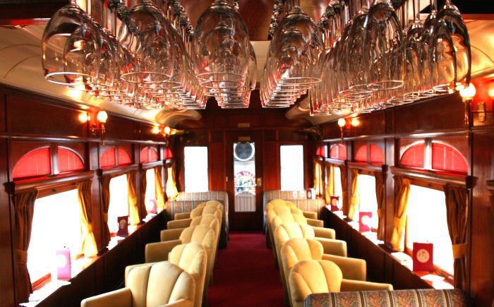 Ride the Napa Valley Wine Train from $164—Wine, a Gourmet Meal, & More + Free Cancellations!
