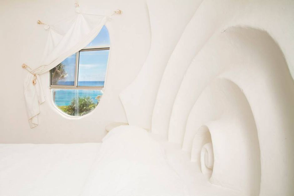 Group Stay at the Famous Seashell House in Isla Mujeres from $75 Per Person! - 4