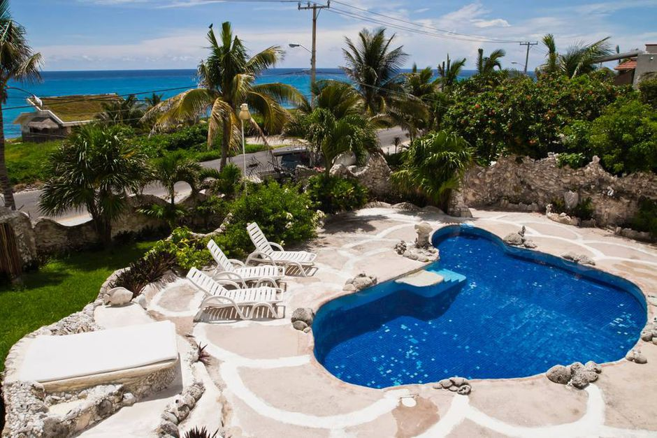 Group Stay at the Famous Seashell House in Isla Mujeres from $75 Per Person!
