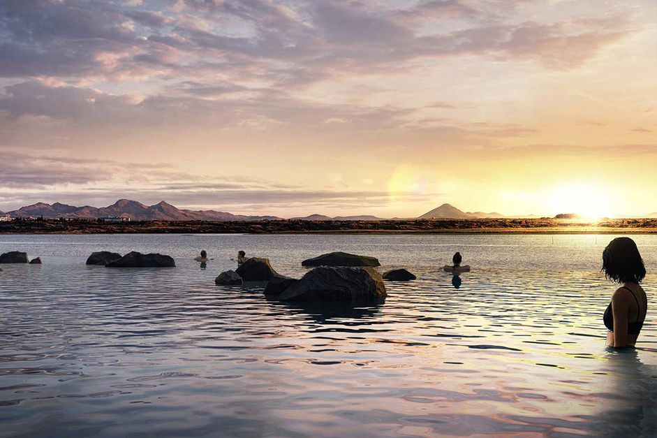 Check out Iceland's New Lagoon—Floating Bar, Ocean Views & Northern Lights! - 4
