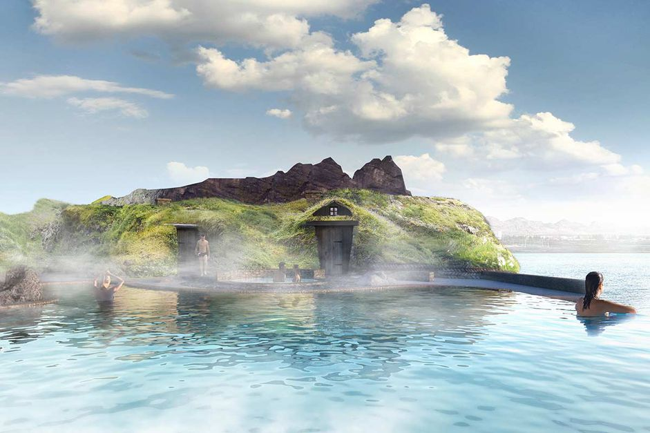 Check out Iceland's New Lagoon—Floating Bar, Ocean Views & Northern Lights! - 2
