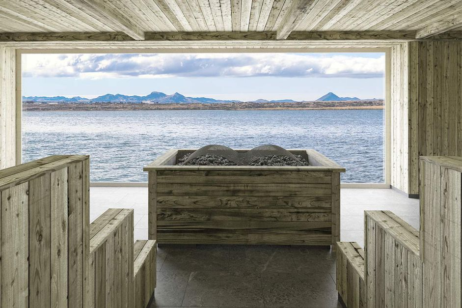 Check out Iceland's New Lagoon—Floating Bar, Ocean Views & Northern Lights!