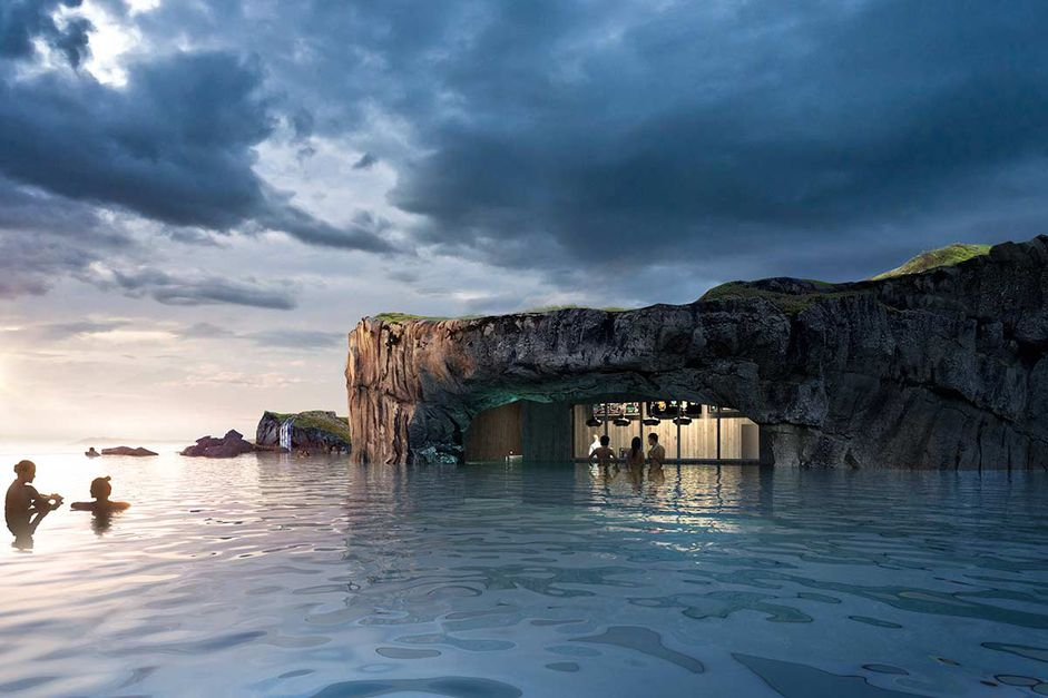 Check out Iceland's New Lagoon—Floating Bar, Ocean Views & Northern Lights! - 7