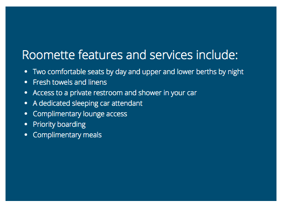 Amtrak BOGO Sale—Private Roomette for Two at the Price of One!