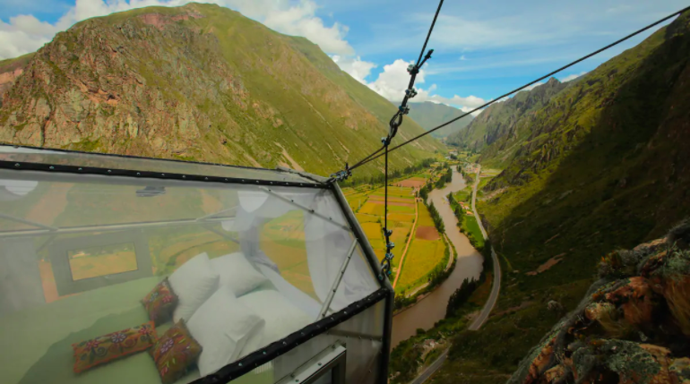 Are You Brave Enough to Stay in a Hanging Mountain Pod? - 2
