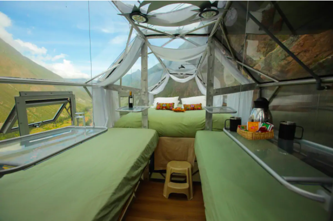 Are You Brave Enough to Stay in a Hanging Mountain Pod?