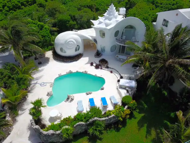 Group Stay at the Famous Seashell House in Isla Mujeres from $75 Per Person! - 2