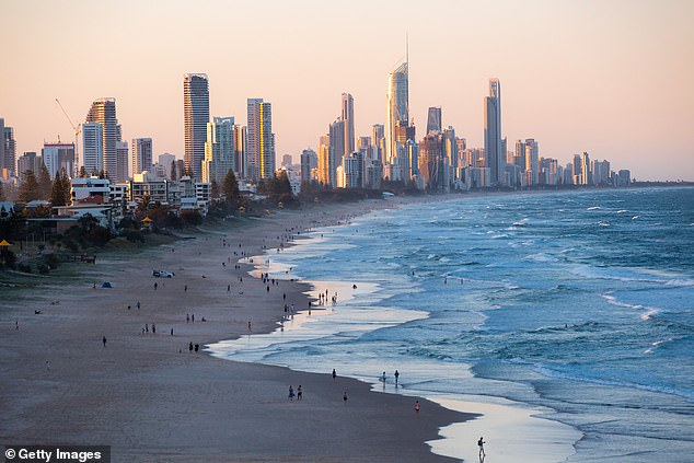 'It's disgusting': She said the most confronting part of the documentary was having to visit Surfers Paradise (pictured), a highly developed stretch of coastline on Queensland's Gold Coast popular with holidaymakers