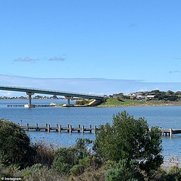 Idyllic: She added that Goolwa (pictured), a coastal town on the Murray River, was one of her favourite regional destinations