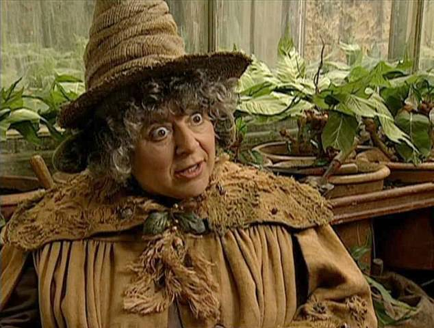 Familiar face: Miriam, who is best known for playing Professor Sprout in the Harry Potter film, became a naturalised Australian citizen in 2013