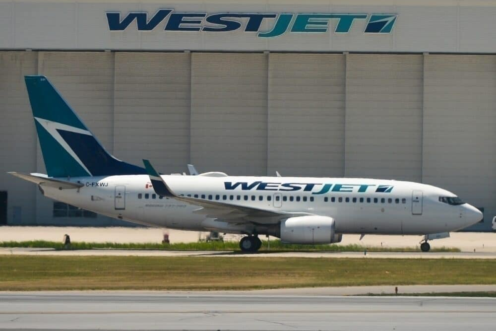 WestJet, Halifax, Manchester