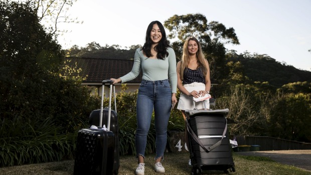 Daphne Lin and Tia Dolan would prefer to travel abroad rather than within Australia as they find domestic options too ...
