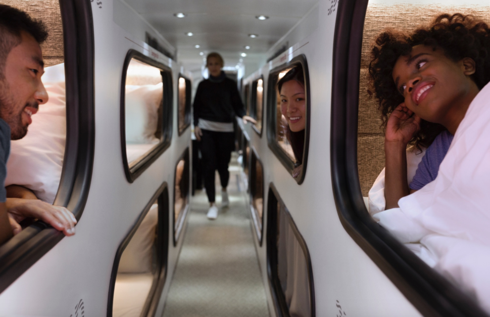 Get Your Own Pod on a Luxe Sleeper Bus Between Los Angeles & San Francisco! - 7