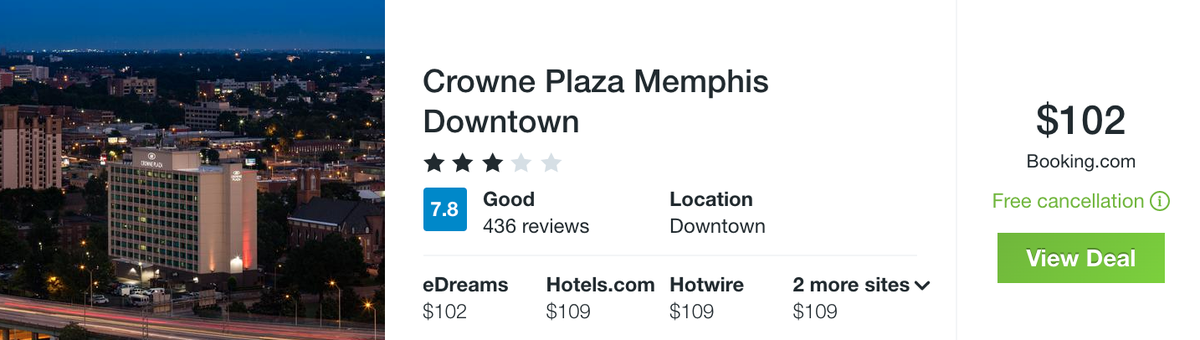 Memphis Crowne Plaza Downtown from $102 a Night—Winter Break Included! - 7