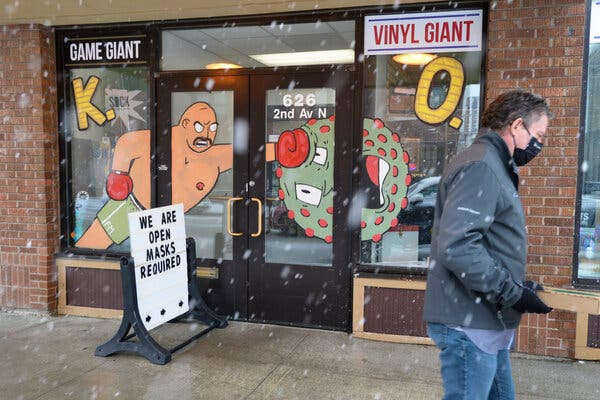 The mayor of Fargo, N.D. used his emergency powers to issue a mandatory mask order on Monday.