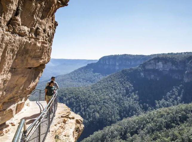 The Blue Mountains outside Sydney is one of the country's best assets, but can also be dangerous to visitors who aren't prepared. Picture: Destination NSW Source: News Regional Media