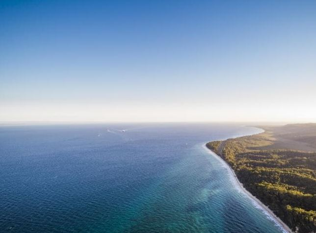 Even a trip to relaxing Moreton Island landed a traveller in trouble. Source: istock