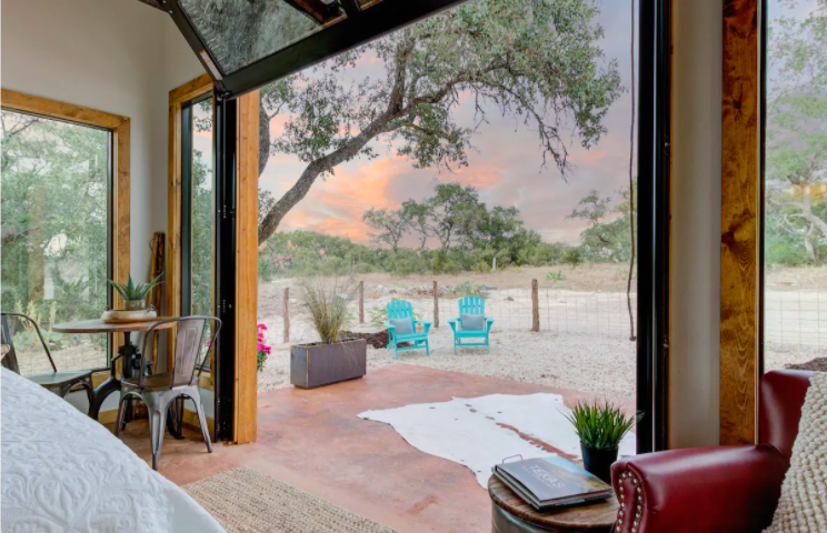 Hill Country Tiny Home Stay in Texas from $120—Sleep Underneath the Stars! - 6