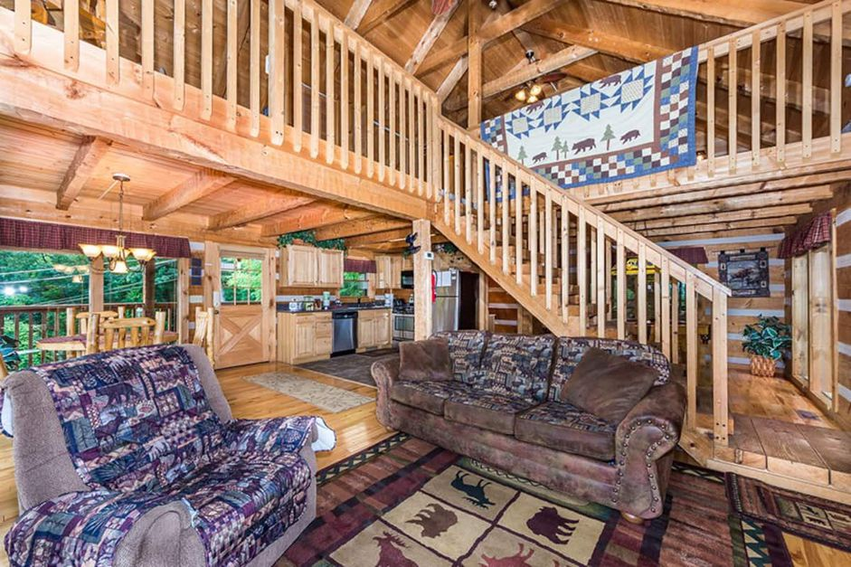 Secluded Stay in the Great Smoky Mountains from $74—Hot Tub, Fireplace, & Top Views! - 6