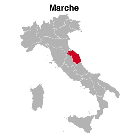 Marche or Le Marche, Italy
