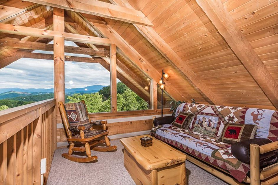 Secluded Stay in the Great Smoky Mountains from $74—Hot Tub, Fireplace, & Top Views! - 4
