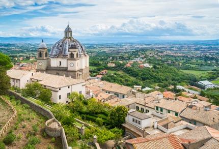 Montefiascone in Lazio, the birthplace of the Est! Est! Est! di Montefiascone wine
