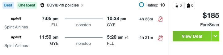 Gateway to the Galapagos! Flights to Guayaquil from $185 - 3
