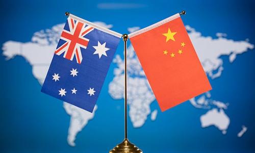 China Australia. Photo: VCG