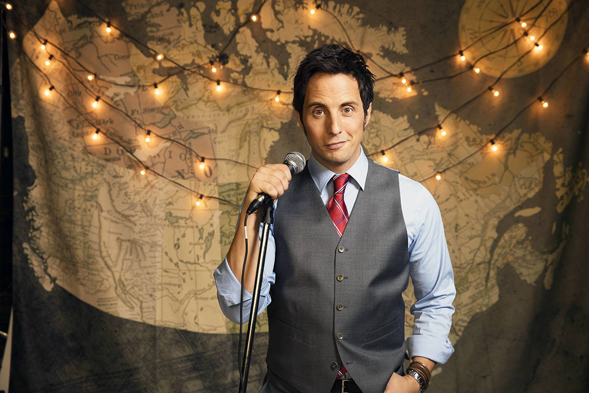 Chemainus is the 79th episode for Jonny Harris of Still Standing. (Photo by Chris Armstrong)