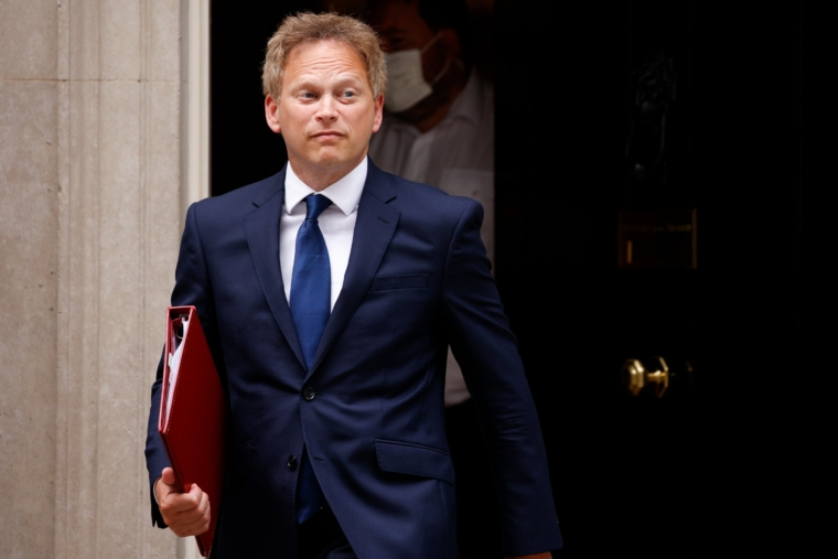 LONDON, UNITED KINGDOM - JUNE 14: British Secretary of State for Transport Grant Shapps leaves 10 Downing Street in London, United Kingdom on June 14, 2021. British Prime Minister Boris Johnson is later today set to announce a delay to the final stage of lockdown easing in England, currently scheduled for next Monday. (Photo by David Cliff/Anadolu Agency via Getty Images)