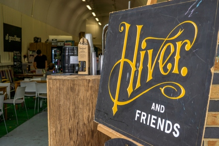 Hiver on the Bermondsey Beer Mile
