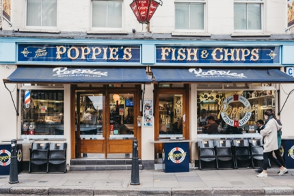 Poppie's Fish & Chips in East London