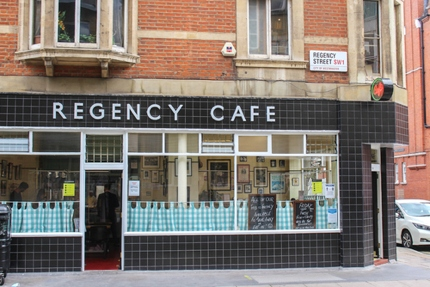 Regency Cafe in Westminster