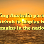 Surfing Australia partners with Airbnb to display browse remains in the nation